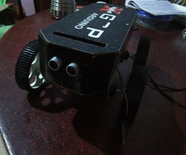 Arduino robot with wireless camera and fire detection for Home security