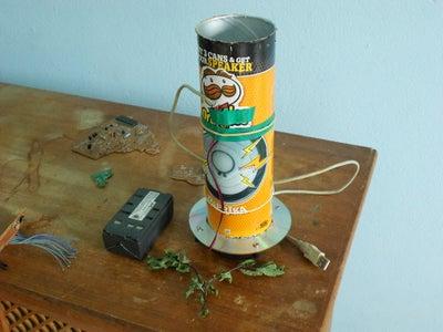 Pringles Wind Tunel