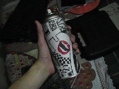 Spray Can Storage