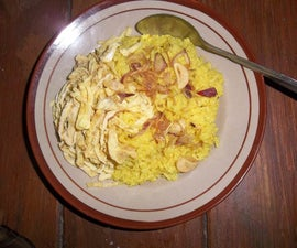 Nasi Kuning (Yellow Rice): a Traditional Food of Indonesia
