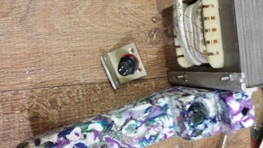 Fixação Do Transformador No Cabo, Instalação Da Chave Pulsadora E LED
