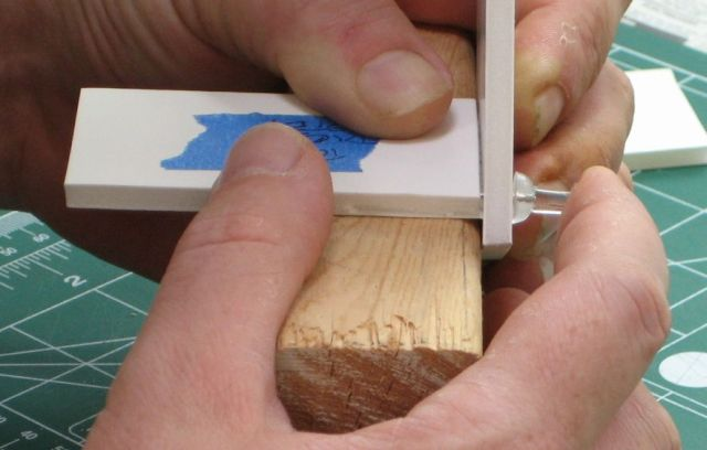 Picture of Putting in the Dice Steps on One Side