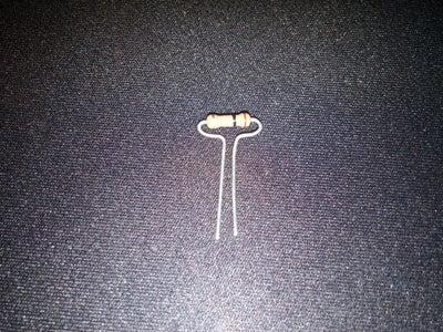 Resistor Bending Tip