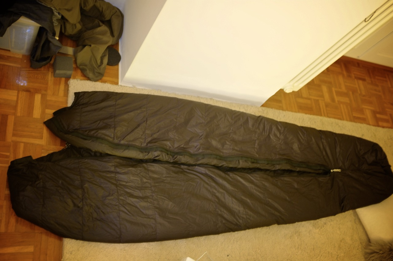 Picture of Prepare the Sleeping Bag... and Yourself!