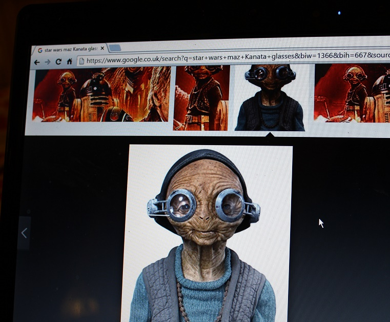 Picture of Star Wars Maz Kanata Inspired Glasses