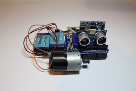 Connect the Relay Module + Motor