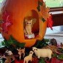 Fairy Kitten Woodland Pumpkin – Mother & Daughter Halloween Design