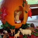 Fairy Kitten Woodland Pumpkin – Mother & Daughter Halloween Design