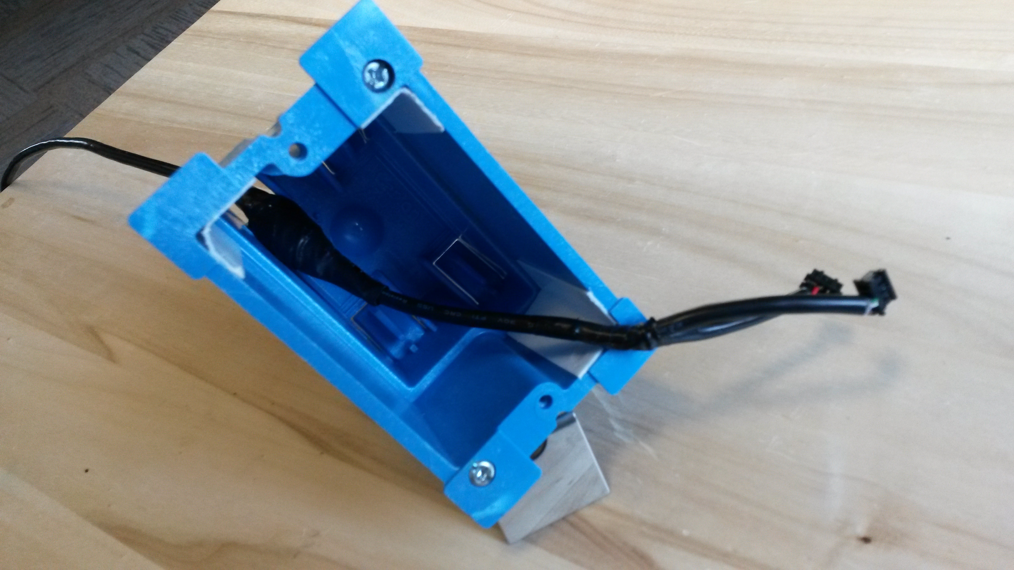 Picture of Solar Socket Assembly and Test