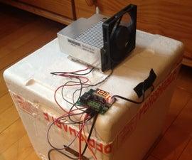 Homemade Peltier Cooler W/ Temperature Control DIY Reusing Old PC Computer Parts