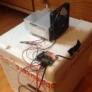 Homemade Peltier Cooler / Fridge With Temperature Controller DIY