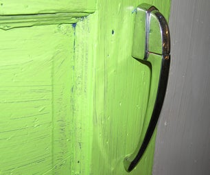 Install Vintage-car Chrome Door Handles in Your House