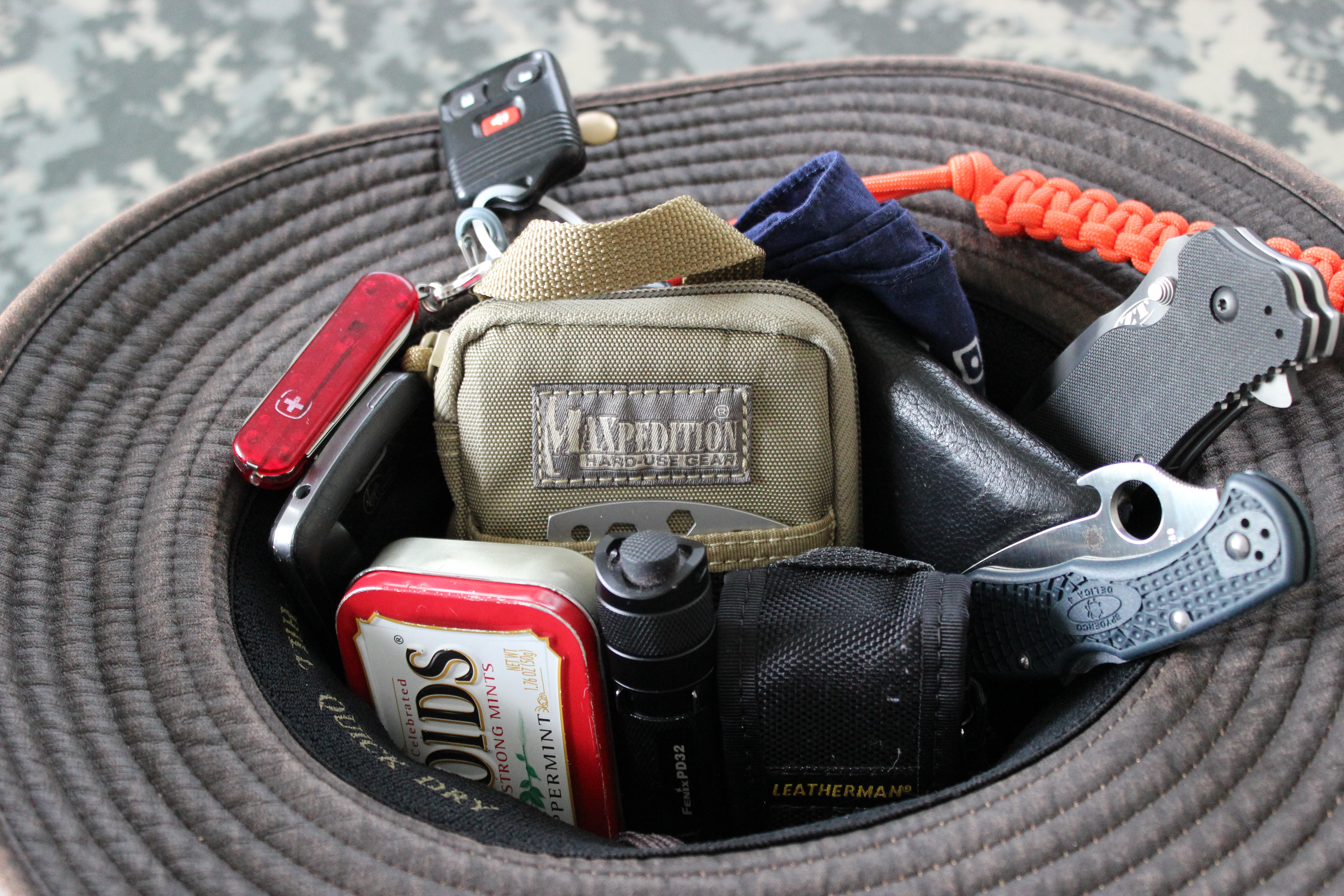 Picture of Wearable Survival Kit -- Hat