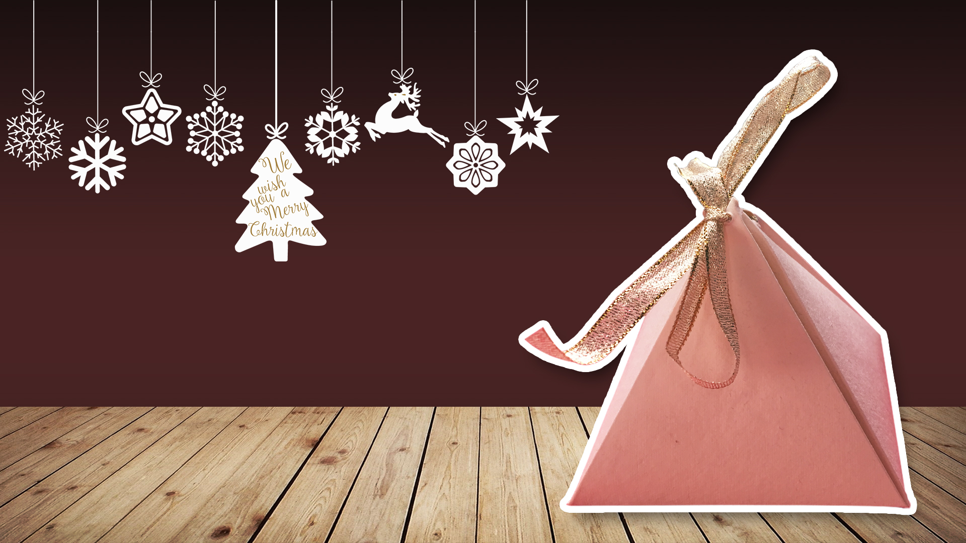 Picture of Origami Pyramid Box Tutorial ♥︎ DIY ♥︎ Cute Gift Box ♥︎ | Christmas Gift Ideas!