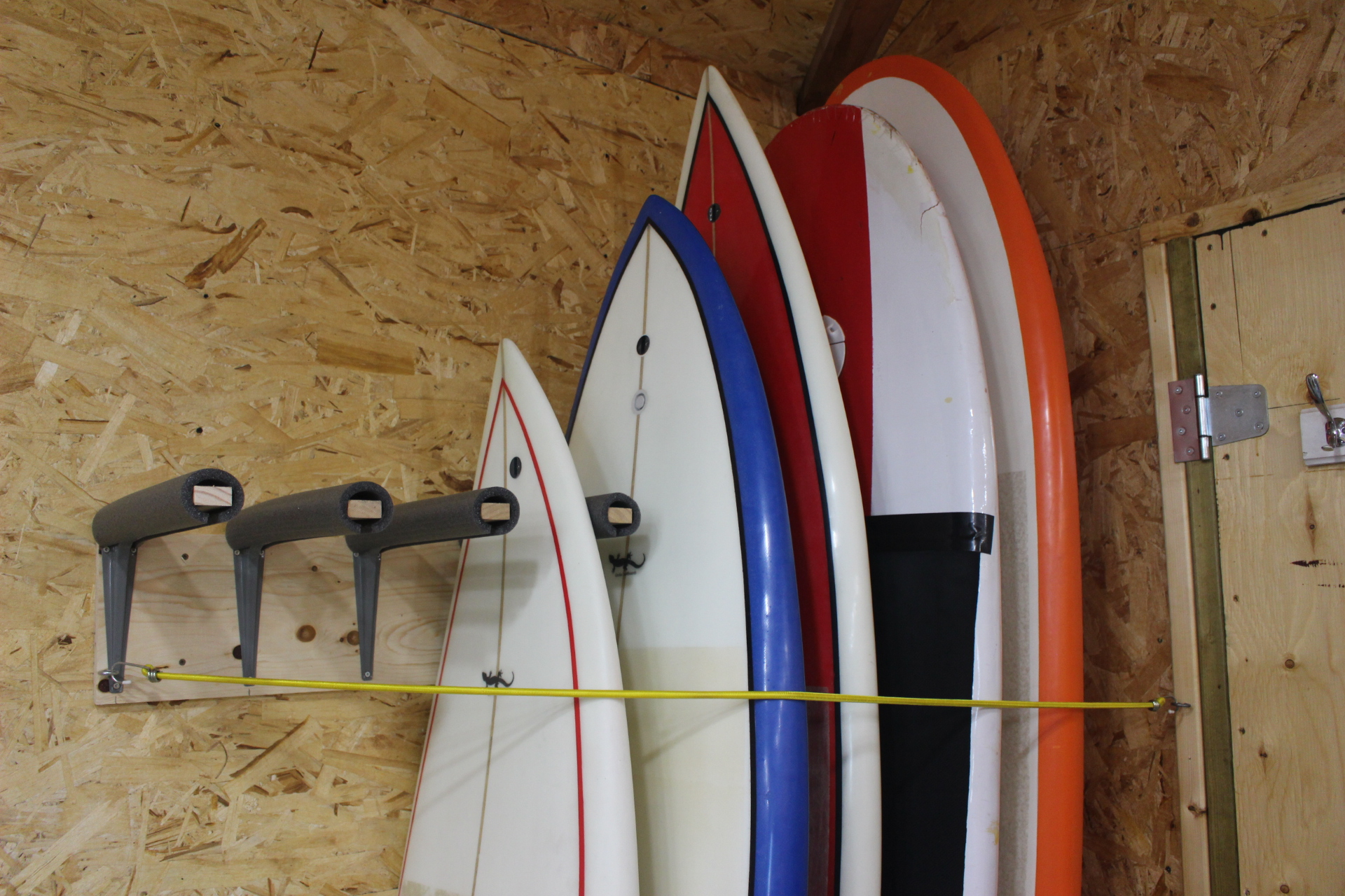 Picture of DIY Surfboard Rack