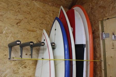 DIY Surfboard Rack