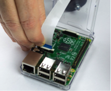 Picture of The Raspberry Pi Case Mount