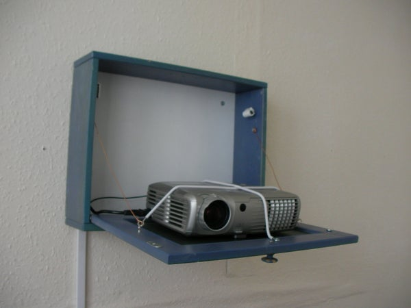 Projector Hidden Cabinet