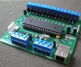 24 Channel USB Connected LED Controller, upto 1A per Channel