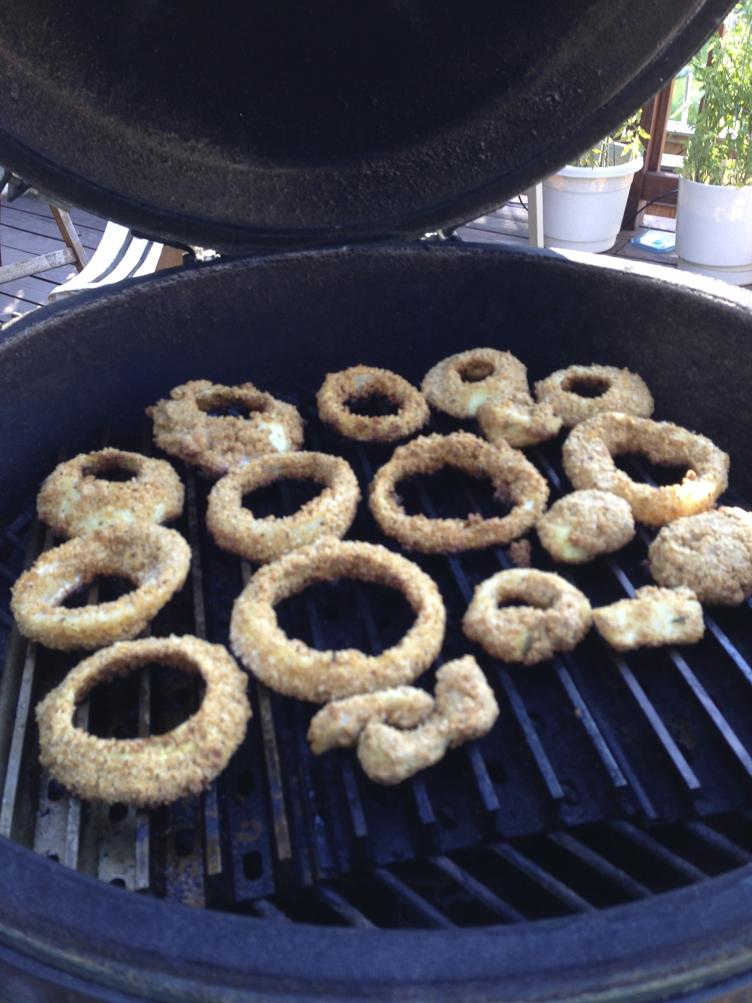 Picture of Best Ever Sweet Onion Rings on the Grill-