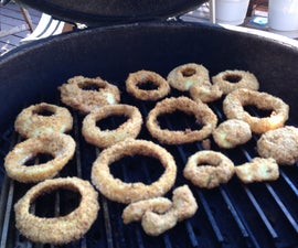 Best Ever Sweet Onion Rings On The Grill-