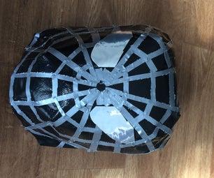 Duck Tape Spider Man Mask