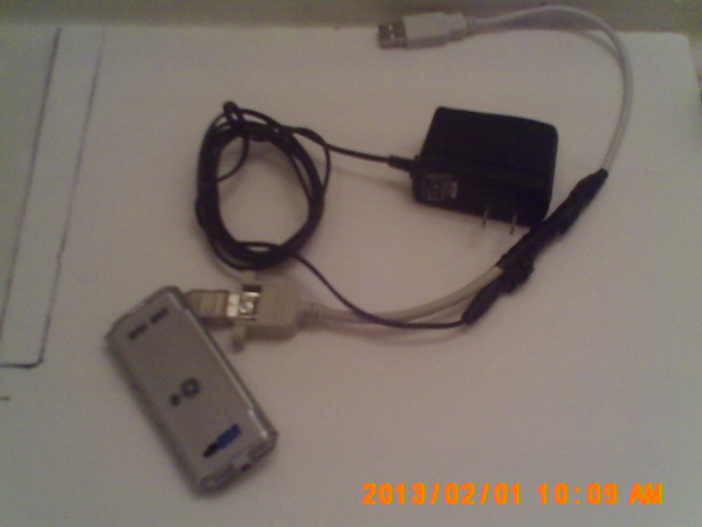 Picture of Usb Power From the Wall.