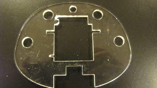 Laser Cut the Plexiglass Ribs