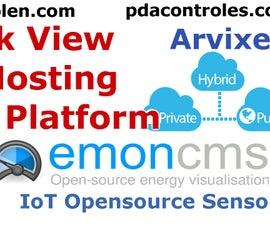 My Emoncms Platform IoT From Internet !!!