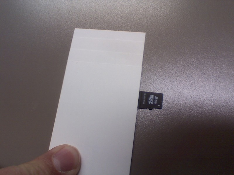 Picture of Micro SD Business Card Case