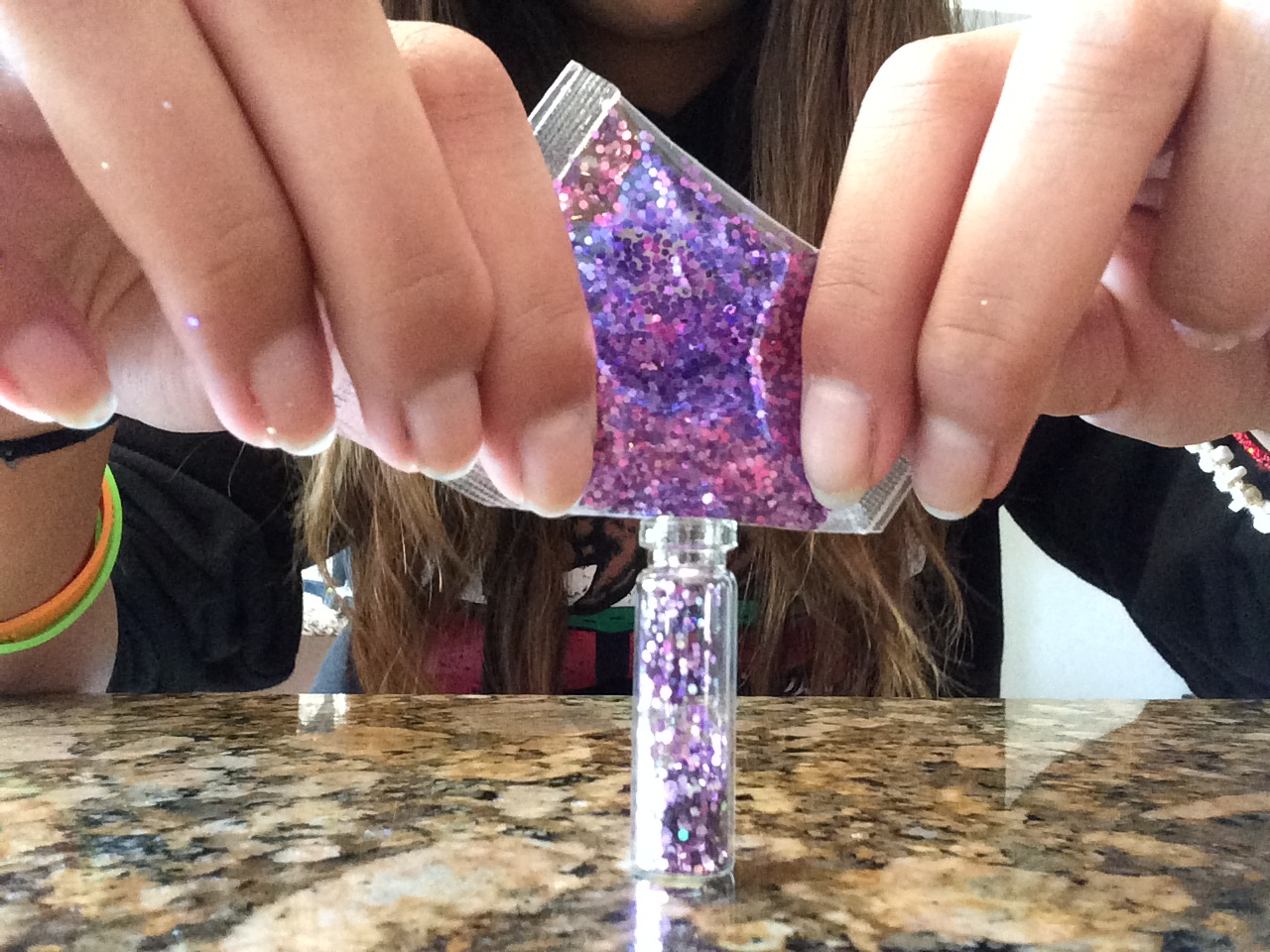 Picture of Adding Your Glitter