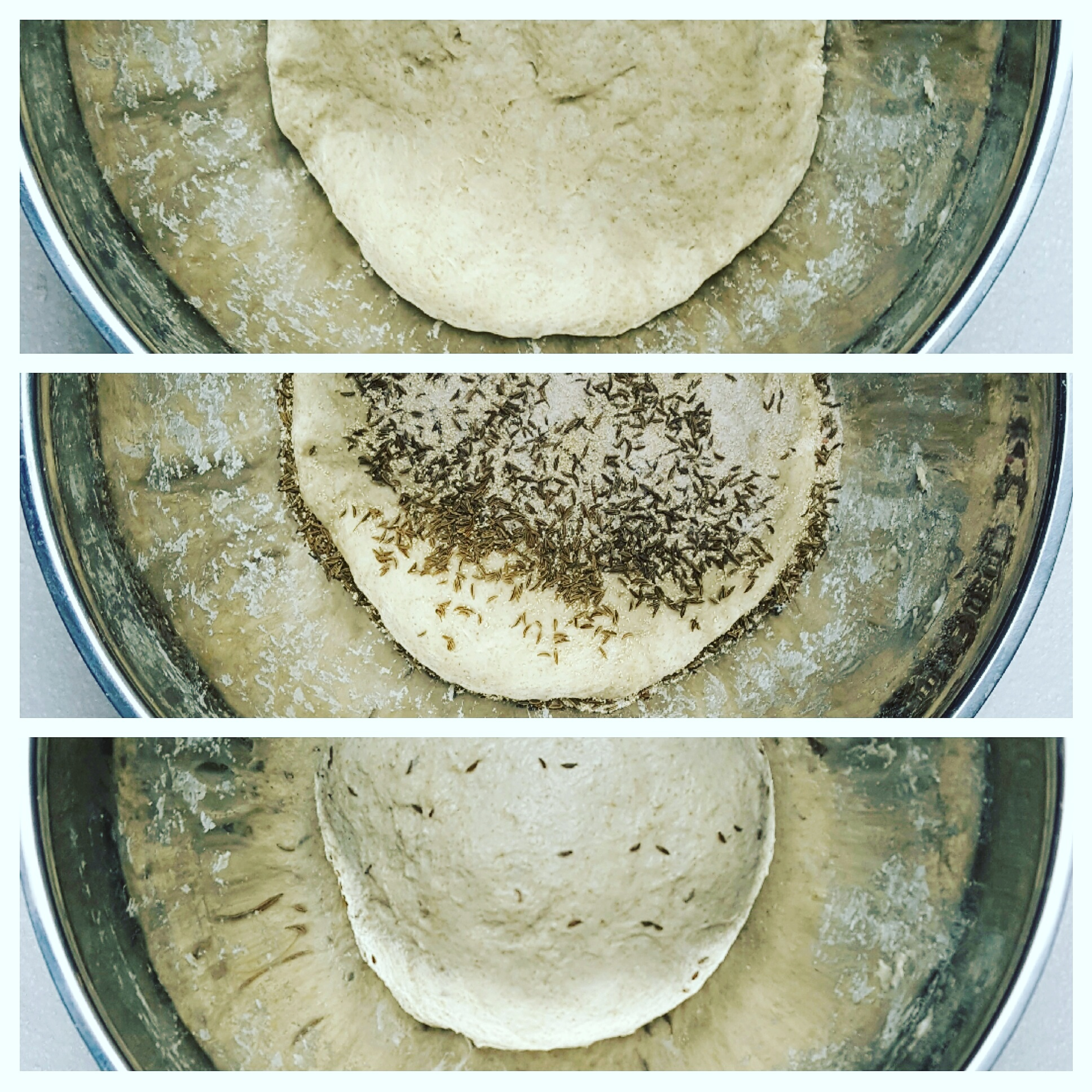 Picture of Add Caraway Mixture to Dough