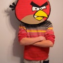 Easy Angry Birds Mask