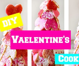 DIY Valentine's Cookies Tree