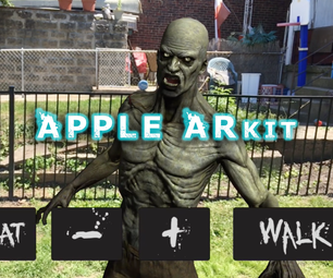 Apple ArKit Augmented Reality App