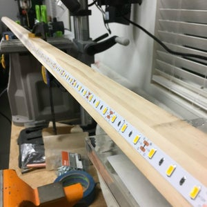 Measure, Cut and Assemble the LED Strips