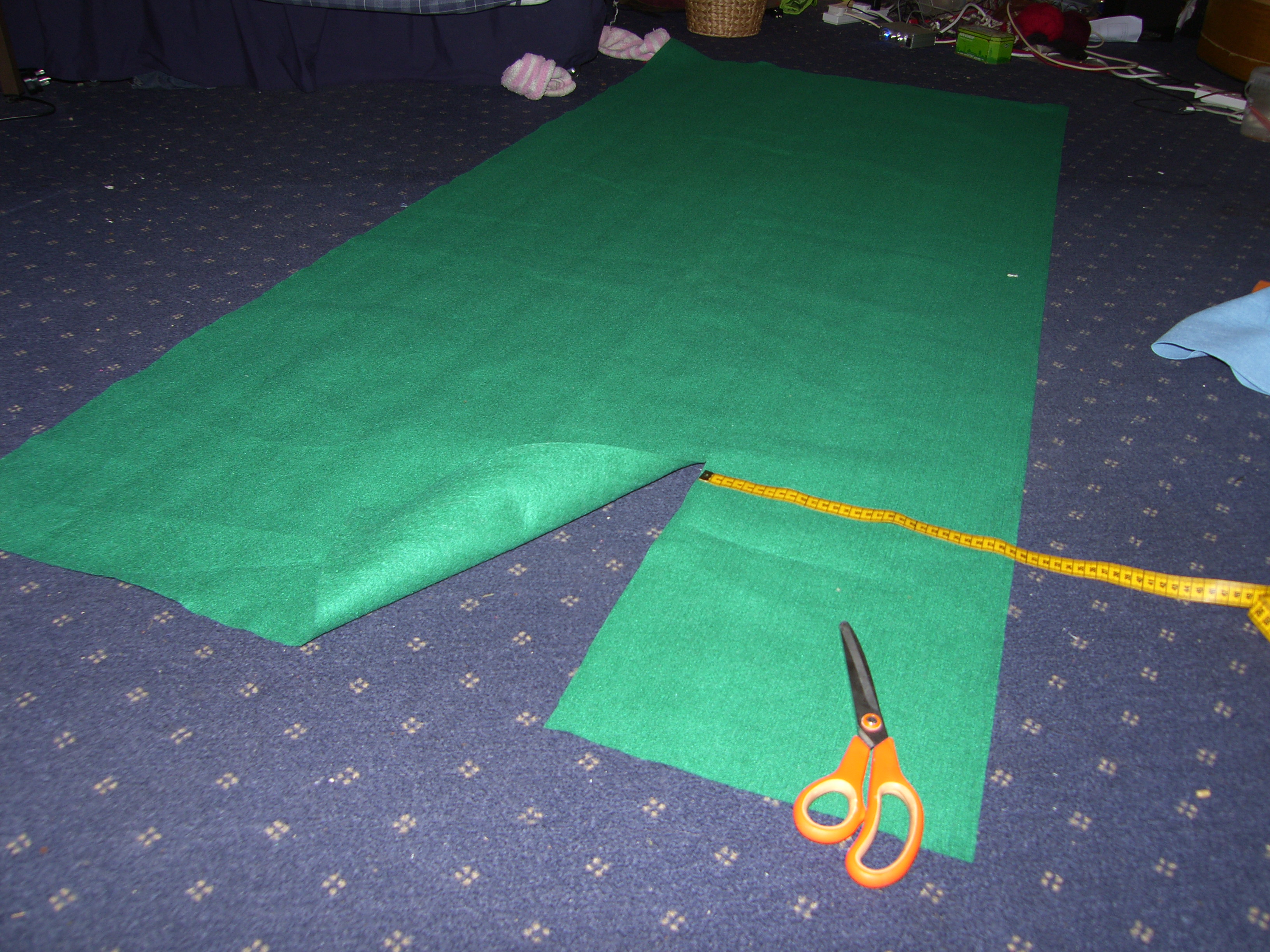 Picture of Cut Out Material and Padding