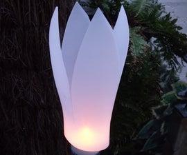 A garden light