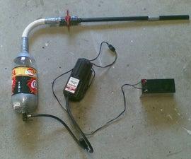 Electric Pump Powered Spud Gun