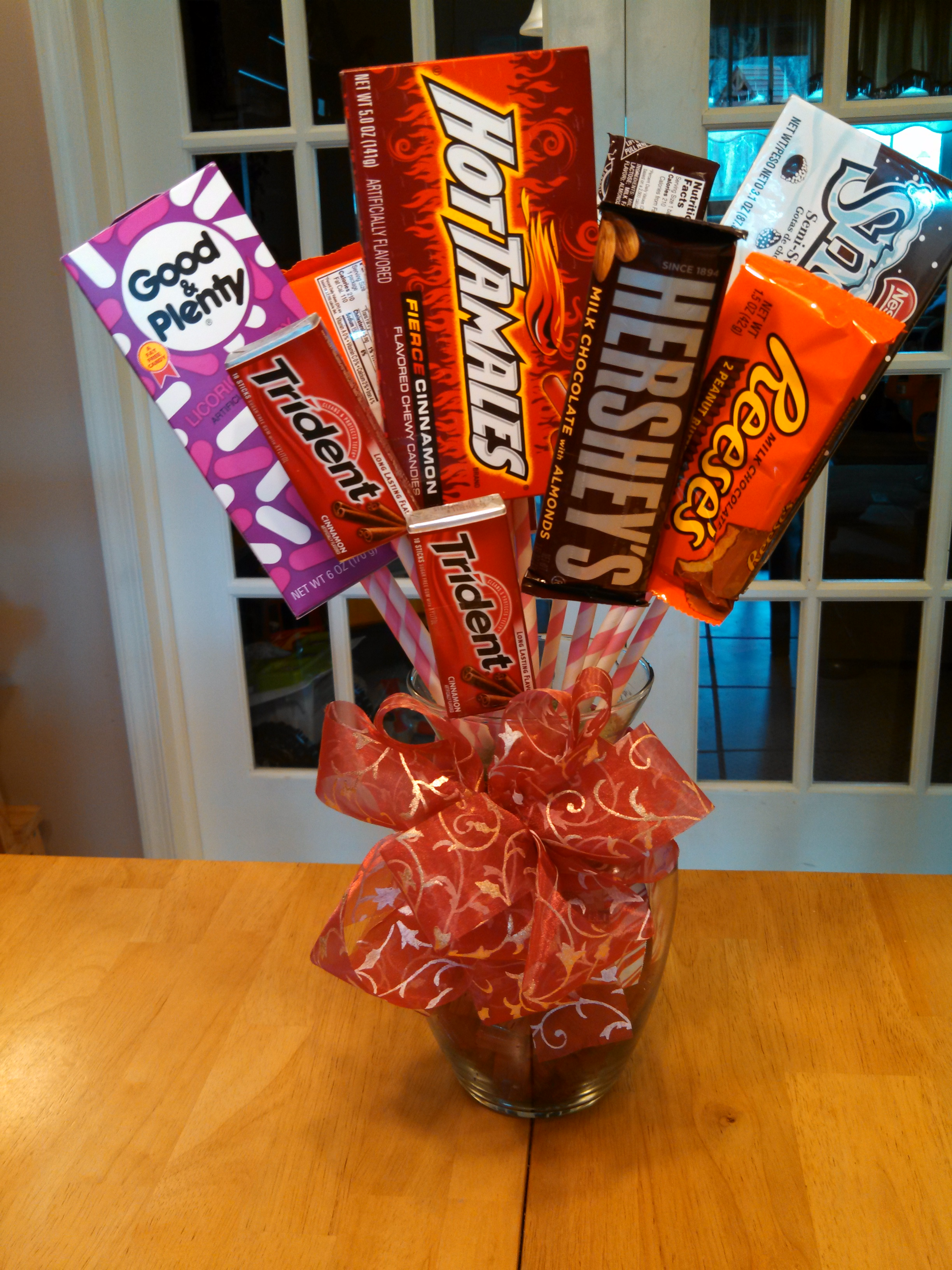 Picture of Valentine's Candy Bouquet