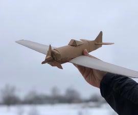 Easy Cardboard Model Airplane