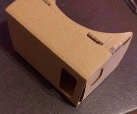 rebuild google cardboard