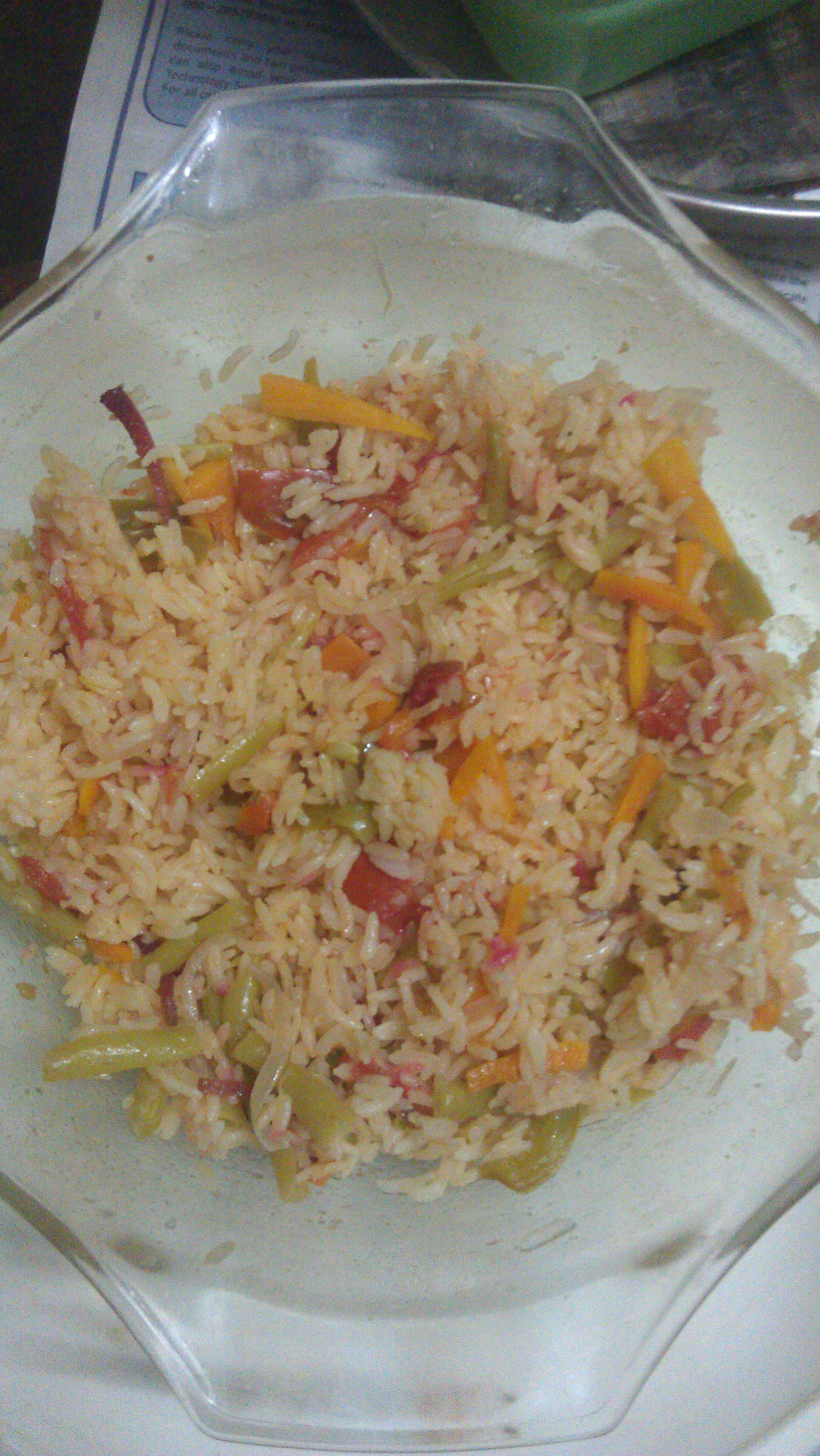 Picture of Simple Microwave Vegetable Rice