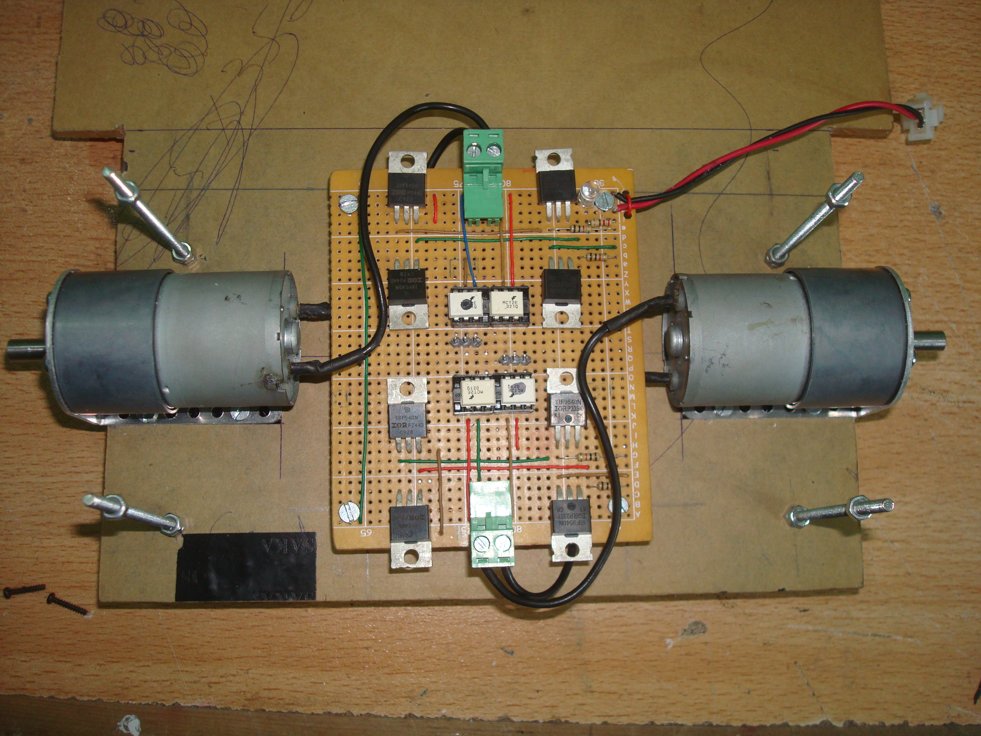 Picture of Installing the Motor Controller