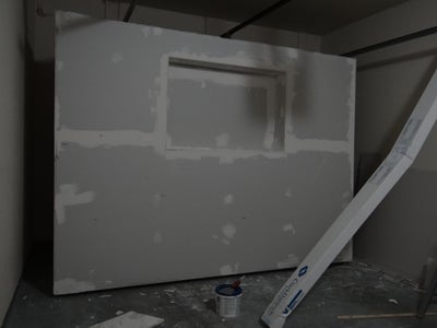 Add Hardware, Mounts, Drywall, Insulation and Paint