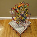 Floor Ferris Wheel Lift - a K'nex Ball Machine Lift