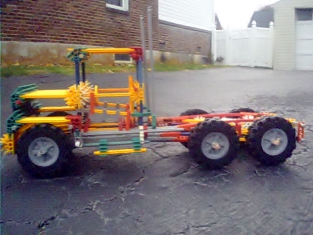 Picture of suggestions on my next knex car