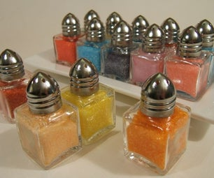 Make Your Own Colored Decorating Sugars!