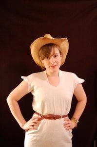 Put Scarlett O'Hara to Shame: the Pillowcase Dress