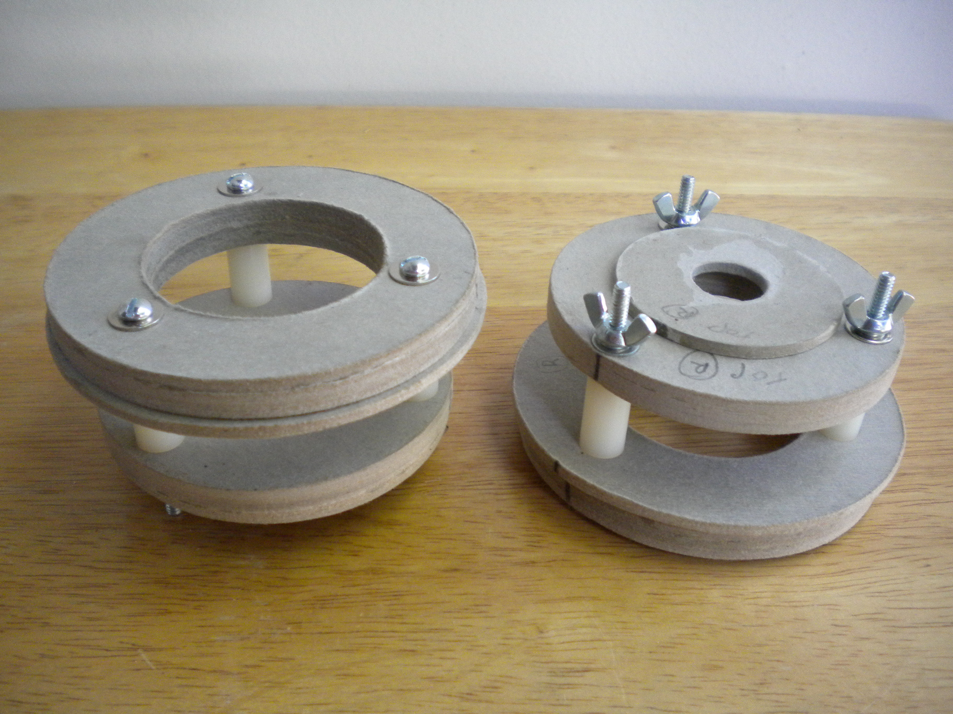 Picture of Assemble Rotor Support Structures